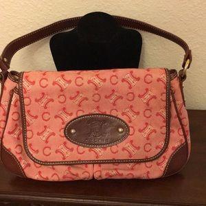 Celine pink shoulder bag
